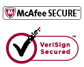 McaFee Secure Version Secured